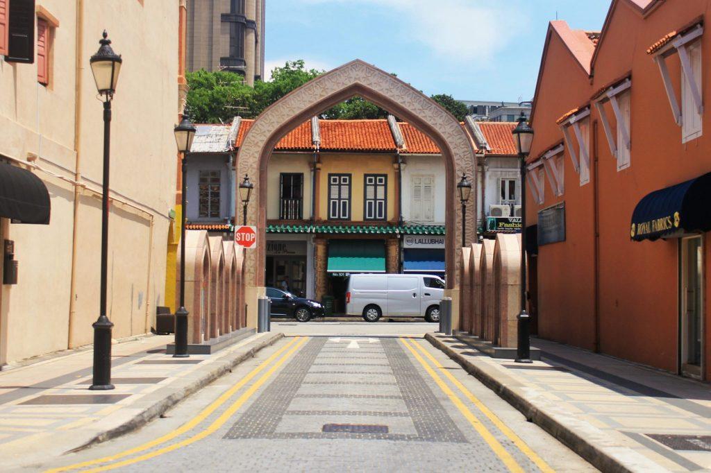 Gerbang Masuk Masjid Sultan Singapura
