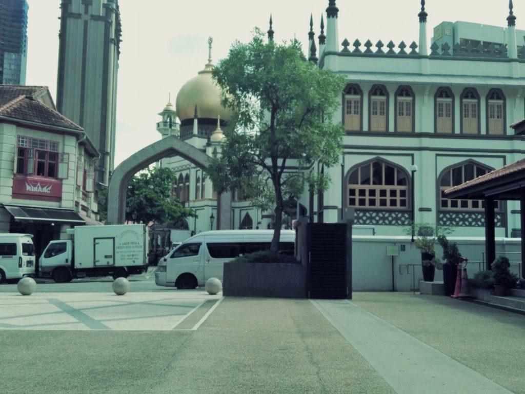 Masjid Sultan Singapura dari Malay Heritage Center