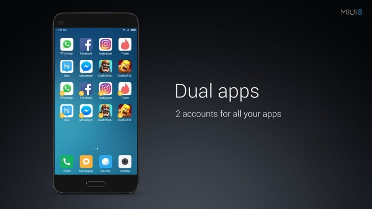 Dual Apps MIUI 8