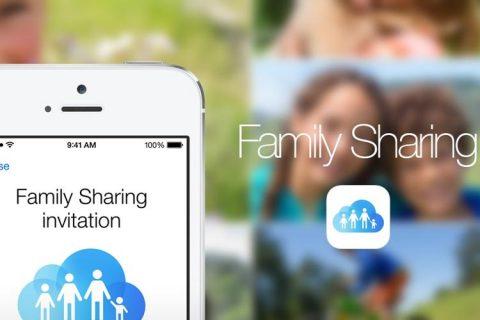 Family Sharing di iPhone iOS 10