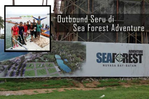 Outbound Seru di Sea Forest Adventure