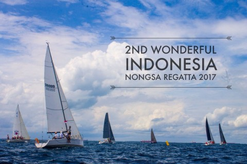 Taklukkan Angin Utara di 2nd Wonderful Indonesia Nongsa Regatta 2017