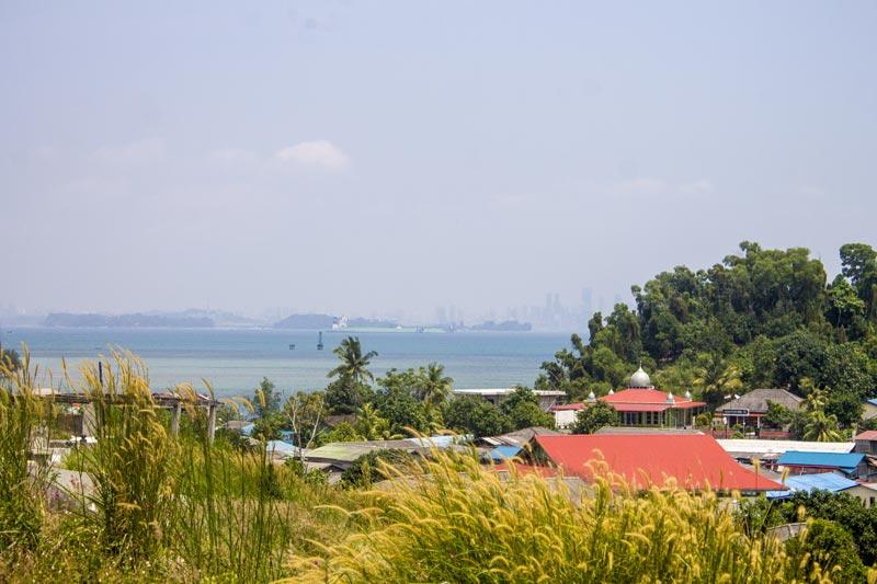 Landscape dari atas bukit