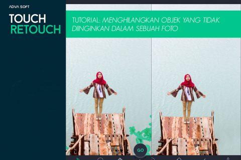 Touch Retouch, Menghilangkan Objek yang tak Diinginkan dalam Sebuah Foto