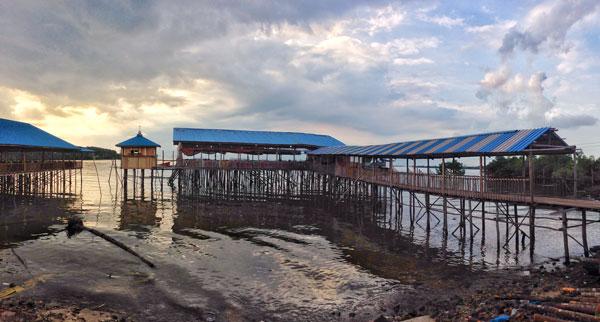 Kelong Arjam Seafood Tiban Mentarau